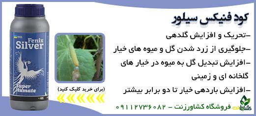 کود ضد ریزش گل خیار
